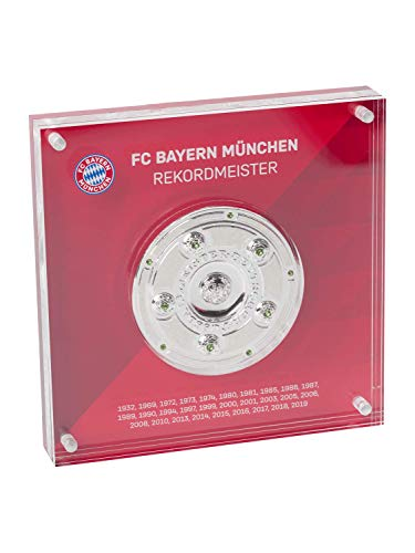 FC Bayern München Meisterschale in Acryl, Geschenk, Mia san Meister, FCB