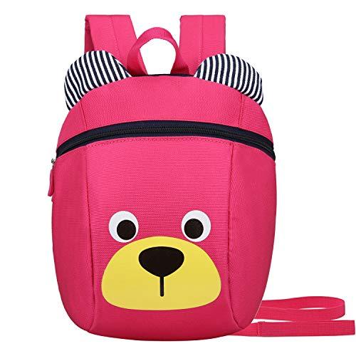 Kids Toddler Backpack Leash Boys Girls Lunchbox Preschool Bag