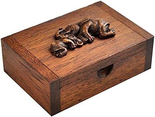 Xkun Arlington Don't miss the campaign Mall Decorative Casket Ashes Wood pet Handmade
