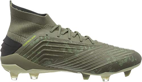 adidas Herren Predator 19.1 FG Fußballschuhe, Grün (Legacy Green/Sand/Solar Yellow Legacy Green/Sand/Solar Yellow), 44 EU