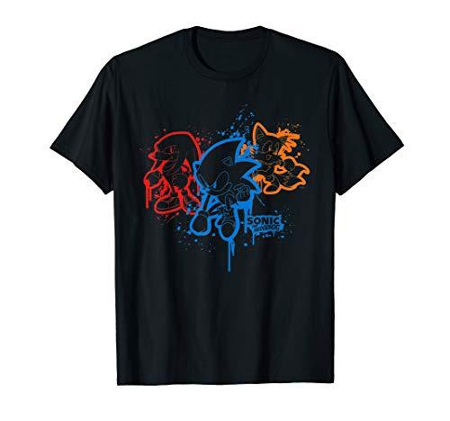Sonic & Friends Spray Paint T-Shirt
