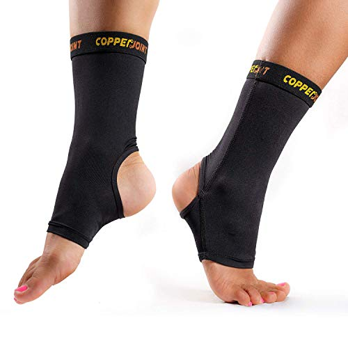 CopperJoint Compression Ankle Sleeve – Copper-Infused High-Performance Breathable Design, Provides Comfortable and Durable Joint Support - All Lifestyles - Single
