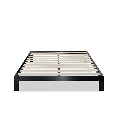 Zinus Arnav Modern Studio 10 Inch Platform 2000 Metal Bed Frame / Mattress Foundation / No Box Spring Needed / Wooden Slat Support / Good Design Award Winner, Queen