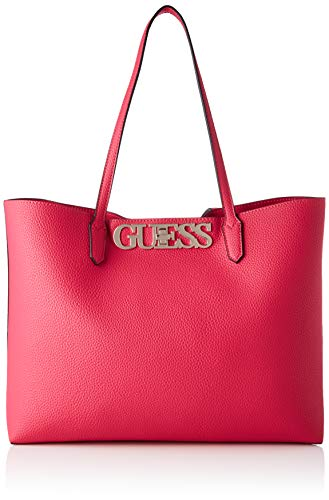 Guess - Uptown Chic, Bolsos totes Mujer, Rosa (Fuchsia), 12,5x29x42 cm (W x H L)