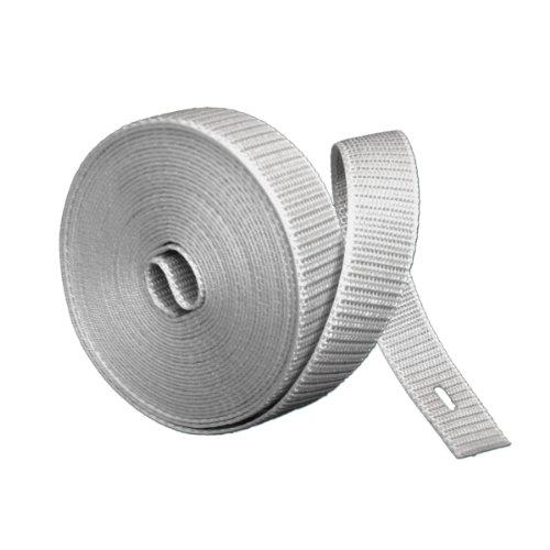 Rollladengurt, Rollladen-Gurt, Rolladengurt, Rollo 23 mm Breite, 4,5 m Länge, grau