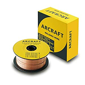 ARCRAFT Welding Wire, ER70S-6 .023 MIG Solid Welding Wire, 2-Pound by ARCRAFT