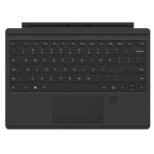 Microsoft Surface Pro Type Cover w/Fingerprint ID, Black
