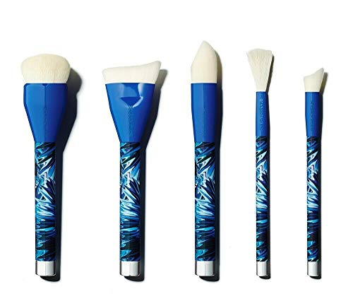Limited Edition Sonia Kashuk Air-Brushed Skin 5 Piece Brush Couture Set, Blue
