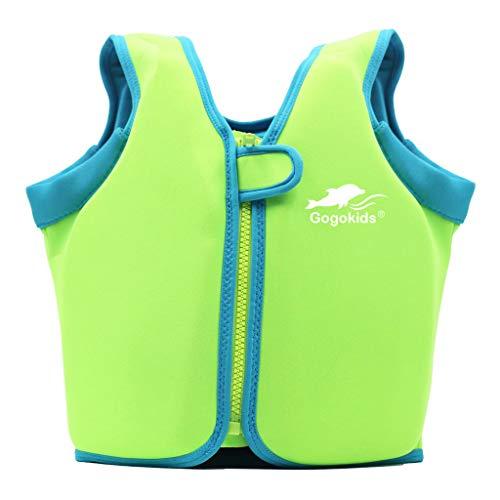 Vine Swim Vest Learn-to-Swim Floatation Jackets Training Vest for Kids (2-4 Years)