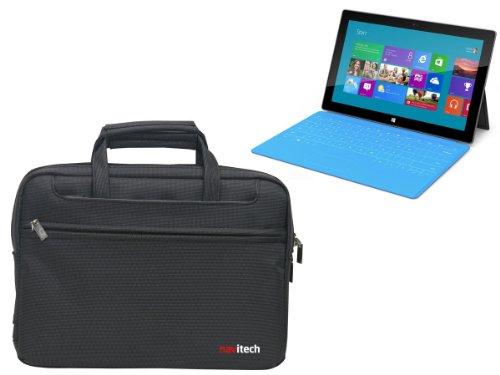 Navitech Water-Resistant Ultrabook - Maletín para Ordenador portátil, Negro