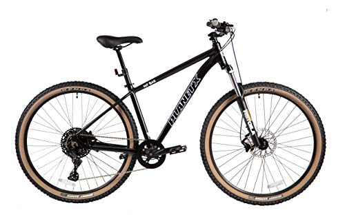 Planet X Fat Baz Mountain Bike Bicycle With Disc Brake MTB Cycle For Men And Women (Satin Black X Large)