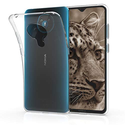 kwmobile Hülle kompatibel mit Nokia 5.3 - Hülle Handy - Handyhülle in Transparent
