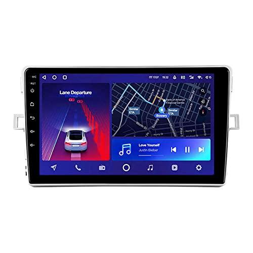 ADMLZQQ Android 10 para Toyota Verso R20 2009-2018 Autoradio GPS Navegación Radio Estéreo Bluetooth Espejo Enlace 4G WiFi DSP Manos Libres Control del Volante Cámara Trasera,8core 4g+wif: 3+ 32g