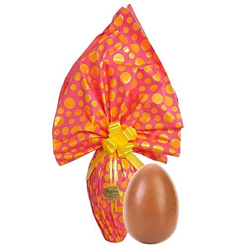 Beppiani Uova di Pasqua cioccolato al Latte (1kg) - Uovo di cioccolato artigianale