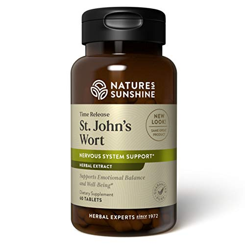 Nature's Sunshine St John's Wort Concentrate T/R 60 Tablets