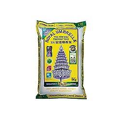 Royal Umbrella Thai Hom Mali New Crop Rice, 5kg