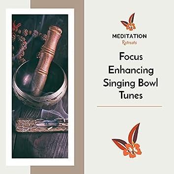 Focus Enhancing Singing Bowl Tunes