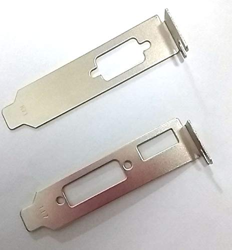 coolxan Low Profile/Half Height Hight Bracket Adapter Hdmi + DVI + VGA for ATI Nvidia Video Graphics Card