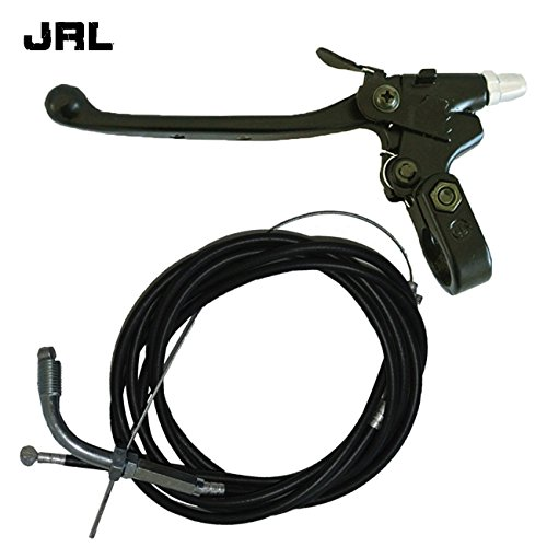 JRL Throttle Cable Clutch Cable&Clutch Lever For 49/66/80cc Engine Motorized Bicycle