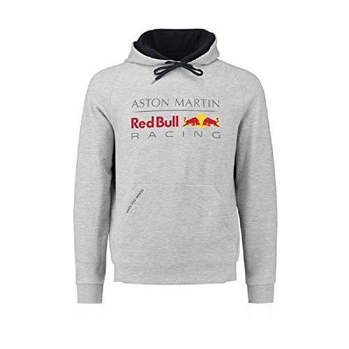 [ Red Bull ] アストンマーチン レッドブル F1 Racing Team オフィシャル フロントロゴ プルオーバーフーディー (XL身幅66cm着丈72cm)