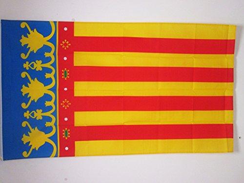 AZ FLAG Bandera de la Comunidad Valenciana 150x90cm -