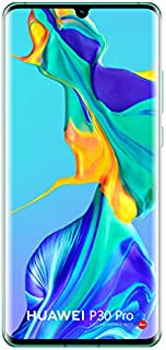 Huawei P30 Pro VOG-L29 256GB Hybrid Dual Sim Unlocked GSM Phone w/Quad (40 MP + 20 MP + 8 MP + TOF 3D) Camera - Aurora