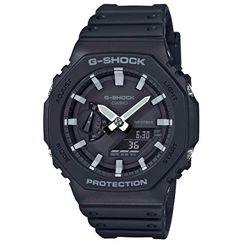 Casio G-Shock Carbon Core Guard Analog-Digital Black Dial Men's Watch - GA-2100-1ADR(G986)