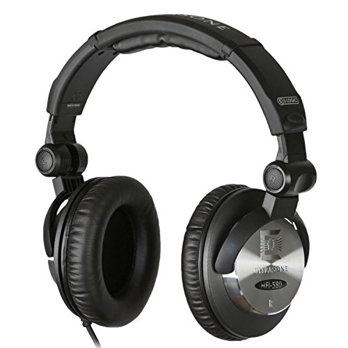 Ultrasone HFI-580 S-Logic Surround Sound Professional Closed-back Foldable Headphones