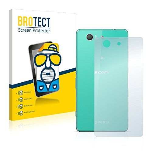 BROTECT 2X Entspiegelungs-Schutzfolie kompatibel mit Sony Xperia Z3 Compact D5803 (Rückseite) Bildschirmschutz-Folie Matt, Anti-Reflex, Anti-Fingerprint