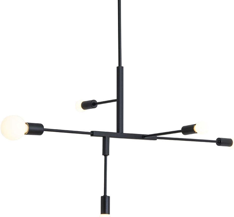 Zhang Ying ZY  Sputnik Kronleuchter, 5 Kopf Moderne Einfachheit Deckenleuchte Hngelampe Unterputz für Esszimmer Wohnzimmer Schlafzimmer Kaffee Gold Pendelleuchte, C.