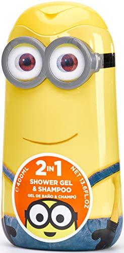 Minions / Ich - Einfach unverbesserlich / Geschenk: 2-in-1 Duschgel & Shampoo 400ml – für Kinder