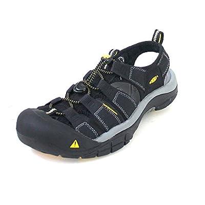 Keen Men's Newport H2 Sandal,Black,10 M US