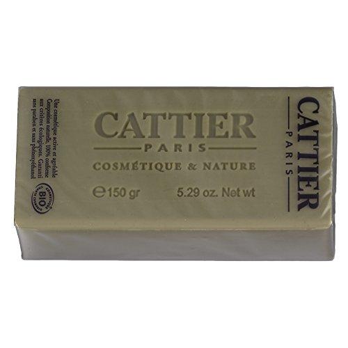 Cattier Seife, pflanzlich, Alargil, für fettige Haut, 150 g