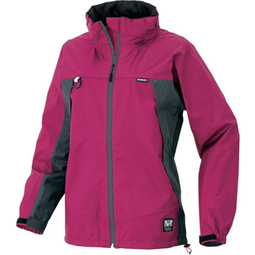くるくる毒トチの実の木アイトス AITOZ  全天候型レディースジャケット AZ56312 060 ピンク×チャコール 11号