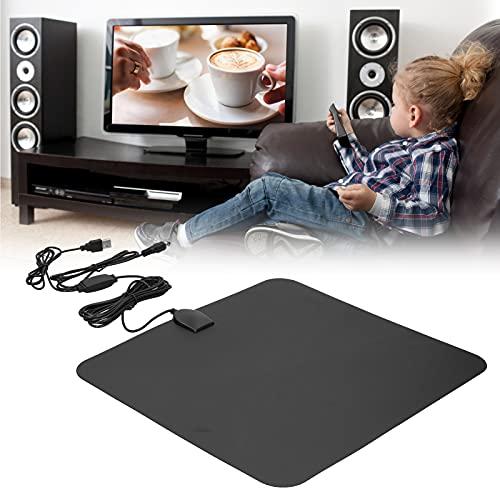 Antena HDTV Digital, Antena de TV Digital HD portátil Que recibe señal de Rango de 80 Millas 1080P de Alta definición para Exteriores para el hogar