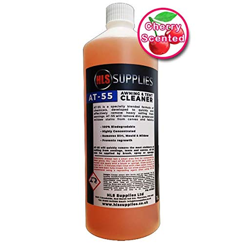 HLS Supplies AT-55 Awning & Tent Cleaner 1L (Cherry Scented)