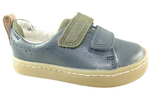 Clarks Cute Toy First, Chaussures Basses pour Garçon - Bleu - Bleu,