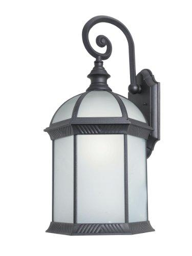 Woodbridge Lighting 61034WL-BKP Outdoor Light, Large, Powder Coat Black