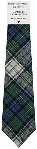 I Luv Ltd Cravate en Laine pour Homme Tissée et Fabriquée en Ecosse à Campbell Dress Ancient Tartan