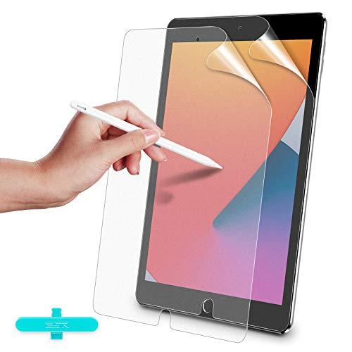 ESR (2 Stück) Paper-Feel Matte Bildschirm Schutzfolie für iPad 8 2020/iPad 7 2019/iPad Air 3 2019 / iPad Pro 10,5 Zoll [Unterstützt Pencil/Pencil 2] [Schreiben & Zeichnen wie auf Papier] (Nicht Glas)