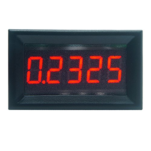Liuxia Amperemeter, digital, 0,9 cm, 5 Ziffern, 0–3.000 A, DC
