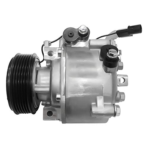 RYC New AC Compressor and A/C Clutch IH491-01 (Does Not Fit Mitsubishi Outlander or Lancer for 2008)
