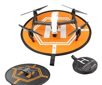 Amazetech Drone Landing Pad for RC Drones Helicopter DJI Mavic Pro Mavic Zoom and Phantom 2/3/4/4 Pro, 32' (80cm) (DJI Mavic Pro Not Included)