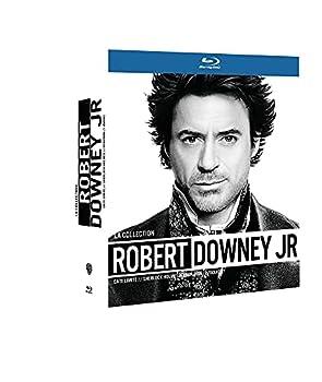 Robert Downey Jr Collection - 4-Disc Boxset   Due Date / Sherlock Holmes / Iron Man / Zodiac   [ Blu-Ray Reg.A/B/C Import - France ]