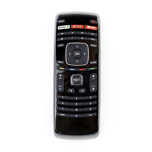 XRT112 Remote Control fit for Vizio Smart Internet LED TV with Netflix/iHeart Radio APP Keys