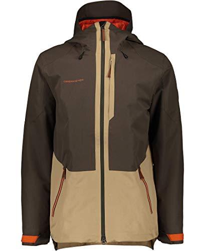 Obermeyer Mens Chandler Shell Jacket, Off-Duty, X-Small