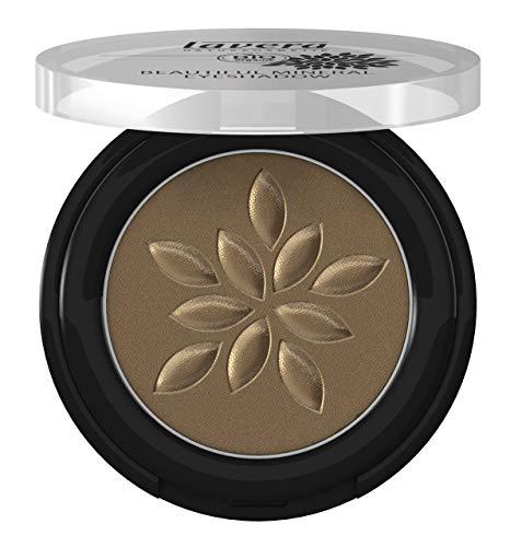 lavera Beautiful Mineral Eyeshadow -Egdy Olive 37- Lidschatten ∙ Traumhaft sanfte Textur ∙ Vegan Naturkosmetik Natural Make-up Bio Pflanzenwirkstoffe 100% natürlich 3er Pack (3x 2 g)