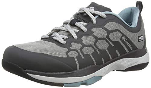 Columbia Women's ATS Trail FS38 Outdry Hiking Shoe, Ti Grey Steel, Storm, 6 B US