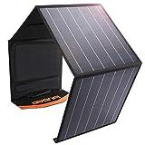 AWANFI ソーラーチャージャー 100W ソーラーパネル 折りたたみ式 太陽光パネル 単結晶 DC/USB/QC3.0/type-c出力ポート 太陽光発電 ポータブル電源 スマホなどに充電可能 防災グッズ 防水防塵 ASP-100
