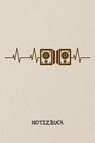 NOTIZBUCH: Notebook für Sänger Musiker & Musik Liebhaber - klassisches Geschenk für Freundin und Freund | Notizheft in A5 (6x9 Inch) | Liniert | 120 Seiten | Geburtstagsgeschenk für Männer und Frauen